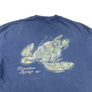 Vintage 00's Hawaiian Legacy Turtle T-Shirt